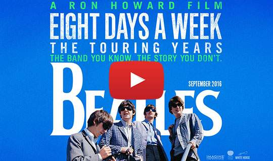 Beatles film - Eight Days a Week: The touring years